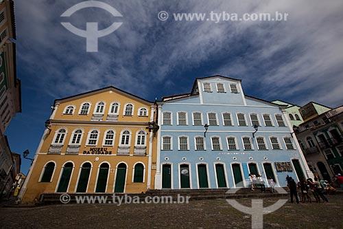Assunto: Museu da Cidade e Fundação Casa de Jorge Amado / Local: Pelourinho - Salvador - Bahia (BA) - Brasil / Data: 07/2012