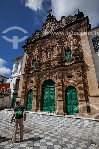 Assunto: Fachada da Igreja da Ordem Terceira de São Francisco de Assis (1703) / Local: Salvador - Bahia (BA) - Brasil / Data: 07/2012