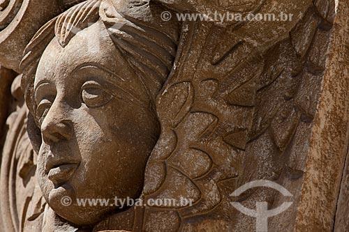 Assunto: Detalhe da fachada da Igreja da Ordem Terceira de São Francisco / Local: Salvador - Bahia (BA) - Brasil / Data: 07/2012