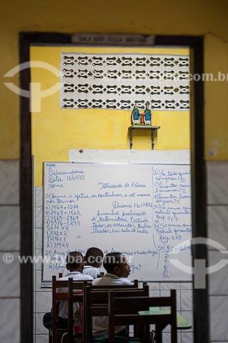 Assunto: Alunos na Escola Educandário Paroquial à Jesus por Maria / Local: Cachoeira - Bahia (BA) - Brasil / Data: 07/2012