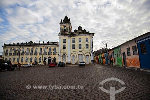 Assunto: Igreja-Hospital Santa Casa de Misericórdia (1729) - Também conhecido como Hospital São João de Deus / Local: Cachoeira - Bahia (BA) - Brasil / Data: 07/2012