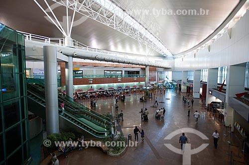 Assunto: Área de embarque do Aeroporto Internacional Zumbi dos Palmares / Local: Maceió - Alagoas (AL) - Brasil / Data: 07/2012