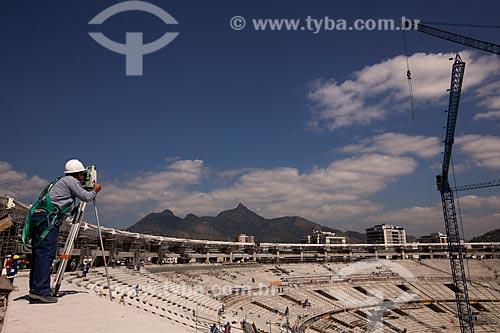 Assunto: Reforma no Estádio do Maracanã para a Copa do Mundo de 2014 / Local: Rio de Janeiro - Rio de Janeiro (RJ) - Brasil / Data: 08/2012