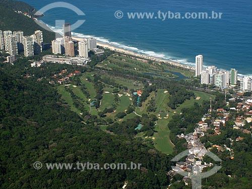 Assunto: São Conrado visto da Pedra Bonita / Local: São Conrado - Rio de Janeiro (RJ) - Brasil / Data: 09/2012