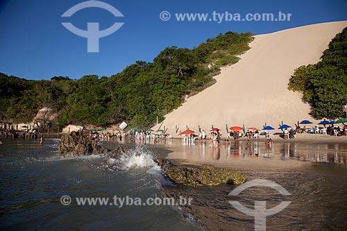 Assunto: Praia de Ponta Negra com o Morro do Careca ao fundo - Zona de Proteção Ambiental 6 / Local: Ponta Negra - Natal - Rio Grande do Norte (RN) - Brasil / Data: 07/2012