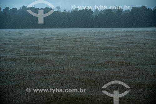 Assunto: Chuva no Rio Branco / Local: Caracaraí - Roraima (RR) - Brasil / Data: 03/2012