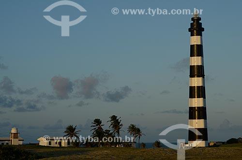 Assunto: Farol Calcanhar (1912-1943) também conhecido como Farol de Touros - É o maior farol do Brasil localizado na chamada esquina do continente / Local: Touros - Rio Grande do Norte (RN) - Brasil / Data: 04/2012