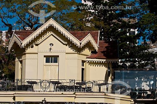 Assunto: Chalé da Praça XV de Novembro no centro histórico da cidade / Local: Porto Alegre - Rio Grande do Sul (RS) - Brasil / Data: 06/2012