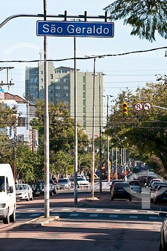 Assunto: Avenida São Pedro no bairro São Geraldo / Local: Porto Alegre - Rio Grande do Sul (RS) - Brasil / Data: 07/2012