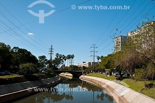 Assunto: Arroio Dilúvio na Avenida Ipiranga / Local: Porto Alegre - Rio Grande do Sul (RS) - Brasil / Data: 07/2012