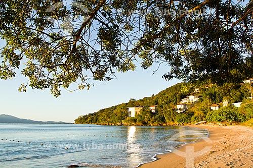Assunto: Praia da Barra do Sambaqui / Local: Florianópolis - Santa Catarina (SC) - Brasil / Data: 09/2012