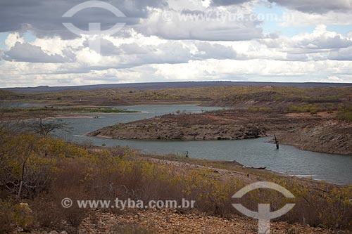 Assunto: Açude de Cocorobó no sertão da Bahia / Local: Canudos - Bahia (BA) - Brasil / Data: 06/2012