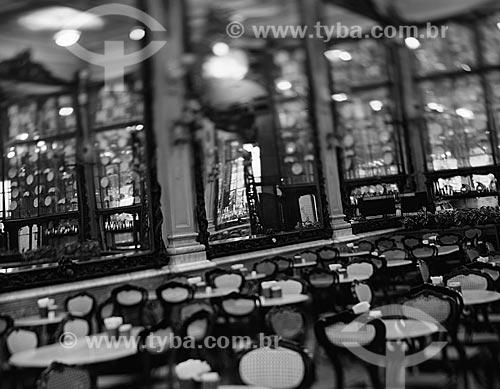 Assunto: Interior da Confeitaria Colombo (1894) / Local: Centro - Rio de Janeiro (RJ) - Brasil / Data: 09/2012