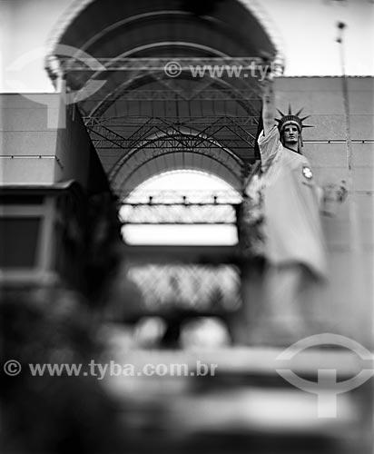 Assunto: Réplica da estátua da Liberdade no Shopping New York City Center / Local: Barra da Tijuca - Rio de Janeiro (RJ) - Brasil / Data: 09/2012