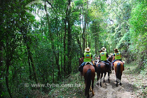 Assunto: Cavalgada (Encontro volta dos 80) / Local: Itamonte - Minas Gerais (MG) - Brasil / Data: 08/2009