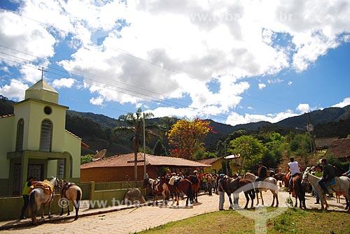 Assunto: Cavalgada (Encontro volta dos 80) / Local: Colina - Itamonte - Minas Gerais (MG) - Brasil / Data: 08/2009