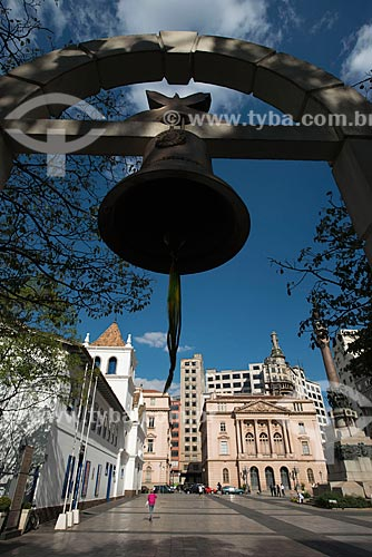 Assunto: Museu Padre Anchieta no Pateo do Collegio e monumento Glória Imortal aos Fundadores de São Paulo do escultor Amadeo Zani / Local: São Paulo (SP) - Brasil / Data: 06/2012
