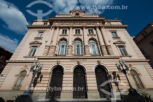 Assunto: Fachada do prédio da Secretaria da Justiça e da Defesa da Cidadania do Estado de São Paulo / Local: São Paulo (SP) - Brasil / Data: 06/2012