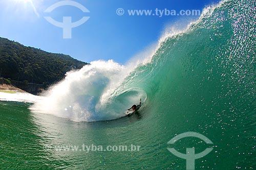 Assunto: Bodyboard na Praia de São Conrado / Local: São Conrado - Rio de Janeiro (RJ) - Brasil / Data: 05/2008