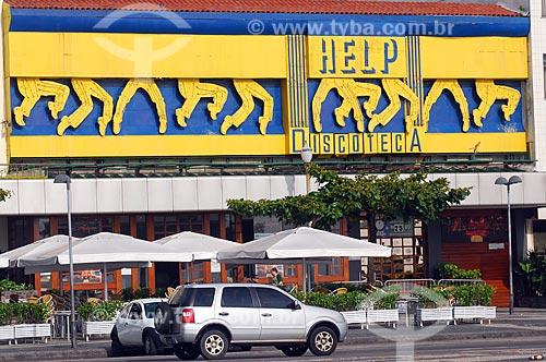 Assunto: Boate Help / Local: Copacabana - Rio de Janeiro (RJ) - Brasil / Data: 12/2008