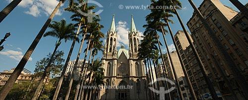 Assunto: Catedral da Sé (Catedral Metropolitana de São Paulo)Catedral Metropolitana Nossa Senhora da Assunção / Local: São Paulo (SP) - Brasil / Data: 06/2012