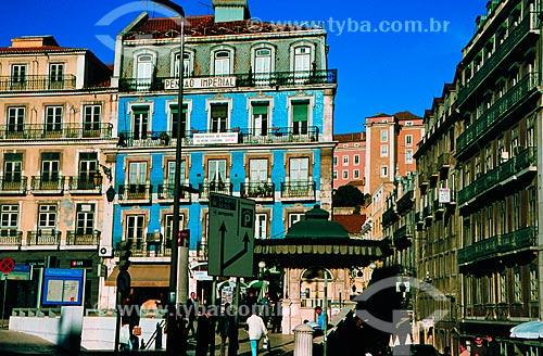 Assunto: Pensão Imperial localizado na Praça dos Restaurador / Local: Porto - Portugal - Europa / Data: 06/2002