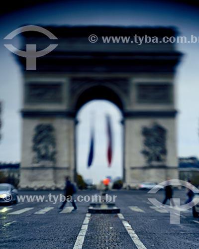 Assunto: Arco do Triunfo (1836) / Local: Paris - França - Europa / Data: 12/2008