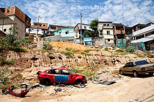 Assunto: Casas do Complexo do Alemão / Local: Rio de Janeiro (RJ) - Brasil / Data: 12/2010