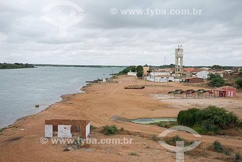 Assunto: Rio São Francisco no período de estiagem / Local: Distrito de Ibó - Abaré - Bahia (BA) - Brasil / Data: 08/2012