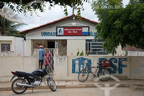 Assunto: Unidade de Saúde da Família no distrito de Ibó / Local: Belém de São Francisco - Pernambuco (PE) - Brasil / Data: 08/2012