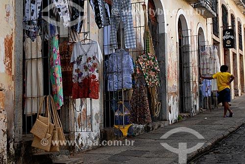 Assunto: Comércio popular na Rua do Giz / Local: São Luis - Maranhão (MA) - Brasil / Data: 09/2010