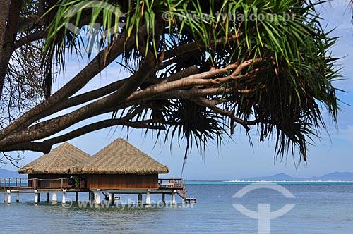 Assunto: Bangalores de um resort / Local: Ilha Huahine - Polinésia Francesa - Oceania / Data: 10/2012