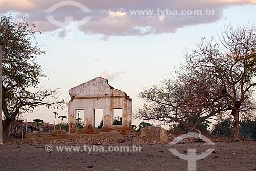 Assunto: Ruína de casa no sertão do Ceará / Local: Juatama - Quixadá - Ceará  (CE) - Brasil / Data: 11/2012