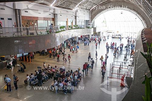 Assunto: Saguão no interior do Aeroporto Internacional Pinto Martins / Local: Fortaleza - Ceará (CE) - Brasil / Data: 11/2012