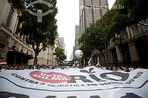 Faixa da Manifestação