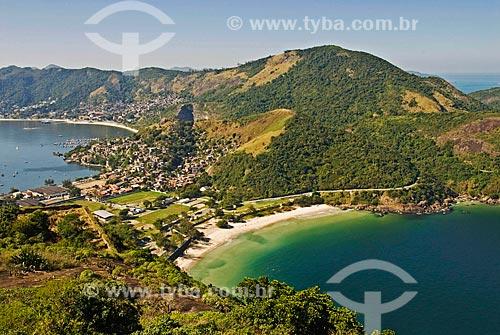 Assunto: Forte do Imbuí e Jurujuba vistos à partir do Morro do Pico / Local: Niterói - Rio de Janeiro (RJ) - Brasil / Data: 07/2011