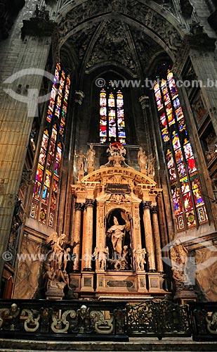 Assunto: Abside da Catedral de Milão (Século XV) / Local: Milão - Itália - Europa / Data: 03/2010