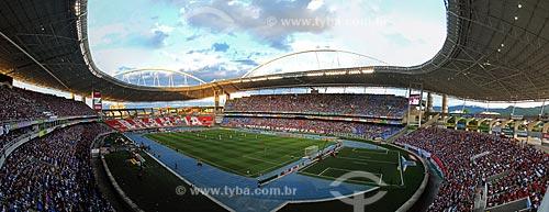 Assunto: Estádio Olímpico João Havelange (Engenhão) durante o jogo Fluminense x Cruzeiro / Local: Engenho de Dentro - Rio de Janeiro (RJ) - Brasil / Data: 11/2012