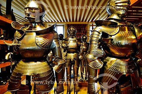 Assunto: Armaduras no Musée historique de lArmée (Museu histórico do Exército) / Local: Paris - França - Europa / Data: 02/2012