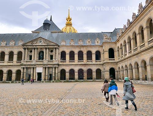 Assunto: Pátio principal do Musée historique de lArmée (Museu histórico do Exército) / Local: Paris - França - Europa / Data: 02/2012