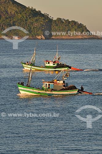 Assunto: Barcos na Praia de Camboinhas / Local: Camboinhas - Niterói - Rio de Janeiro (RJ) - Brasil / Data: 07/2012