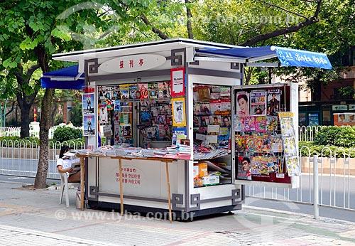 Assunto: Banca de jornal / Local: Distrito de Yuexiu - Guangzhou - China - Ásia / Data: 08/2010