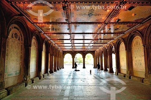 Assunto: Terraço de Bethesda no Central Park / Local: Manhattan - Nova Iorque - Estados Unidos - América do Norte / Data: 09/2010
