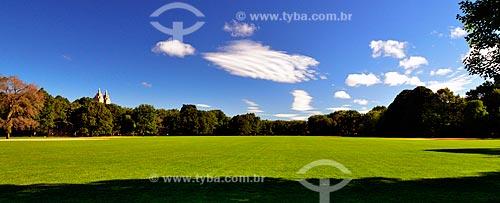 Assunto: Great Lawn (Grande Gramado) no Central Park (1857) / Local: Manhattan - Nova Iorque - Estados Unidos - América do Norte / Data: 09/2010