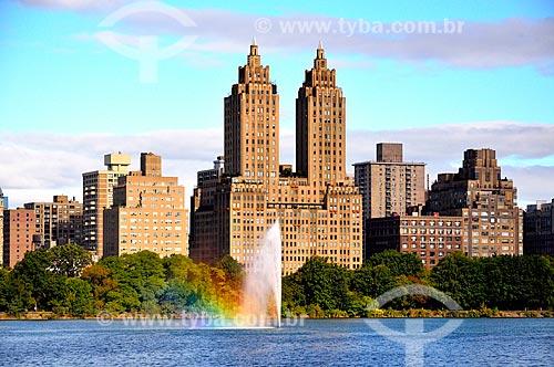Assunto: Jacqueline Kennedy Onassis Reservoir (Reservatório Jacqueline Kennedy Onassis) no Central Park (1857) / Local: Manhattan - Nova Iorque - Estados Unidos - América do Norte / Data: 09/2010