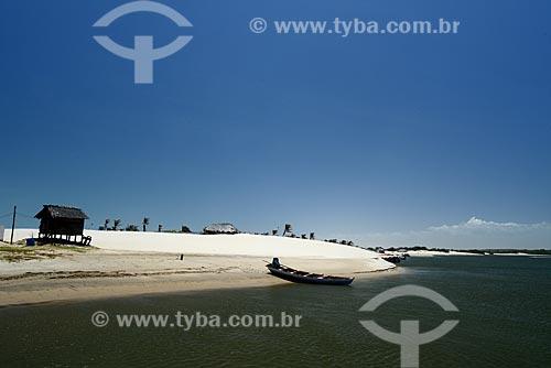 Assunto: Vista do Rio Preguiças / Local: Barreirinhas - Maranhão (MA) - Brasil / Data: 10/2012