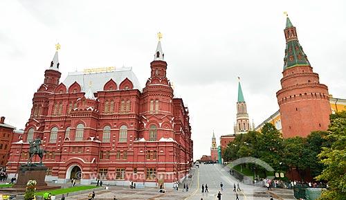 Assunto: Museu Histórico do Estado da Rússia (1872) / Local: Moscou - Rússia - Europa / Data: 09/2010