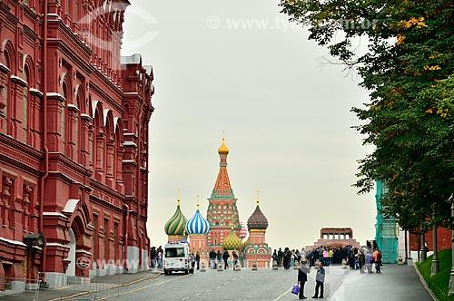 Assunto: Rua de acesso à Praça Vermelha ao lado do Museu Histórico do Estado da Rússia / Local: Moscou - Rússia - Europa / Data: 09/2010