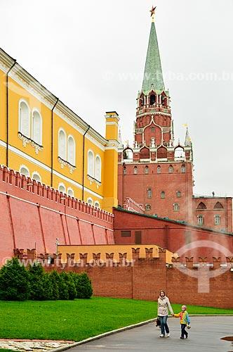 Assunto: Torre da Trindade no Kremlin / Local: Moscou - Rússia - Europa / Data: 09/2010