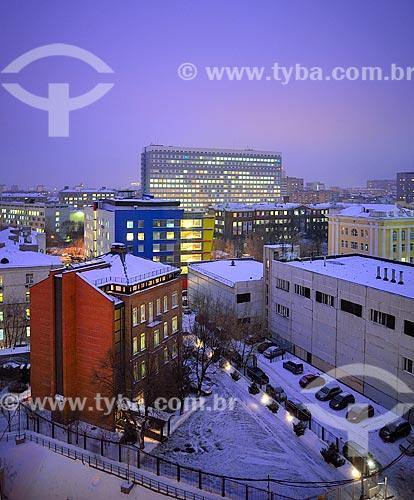 Assunto: Prédios da região central de Moscou / Local: Distrito de Meshchansky - Moscou - Rússia - Europa / Data: 12/2010
